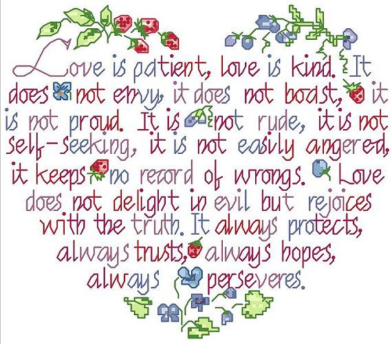 Wedding/Marriage/anniversary/love Counted by crossstitchgarden, $3.85