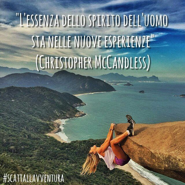 """L'essenza dello spirito dell'uomo sta nelle nuove esperienze"" (Christopher McCandless)  Hashtag #scattallavventura  #avventura #avventure #spirito #essenza #donneinviaggio #viaggio #viaggiare #adventures #adventure #adventuretime #natura #nature #outdoors #outdoor #naturelovers #natureshots #inviaggio #buonviaggio #ontheroad #pazzo #crazy #citazioni #citazionifamose #quotes #quote #citazioniitaliane #fotografia_italiana  Photo by @jubpedroso With @matteoratini @redblond_marydimauro"