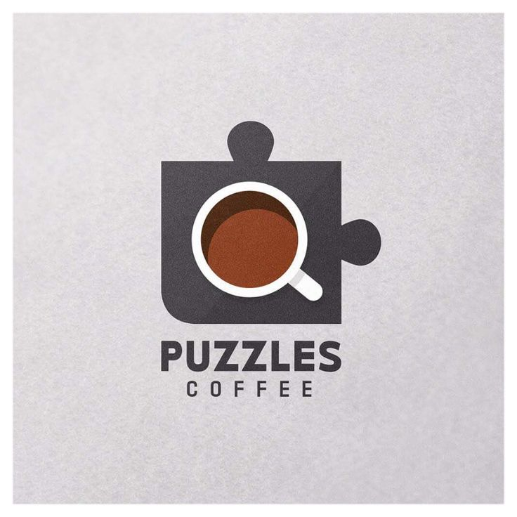 C O F F E E .  For the love of coffee and puzzles 😍 soon to open on the Sunshine Coast #logo #sunshinecoast #brand #coffee #puzzles  @katiewassdesigns on Instagram  www.katiewass.com.au
