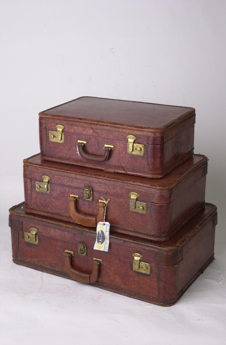 38 best Vintage Luggage images on Pinterest | Vintage luggage ...