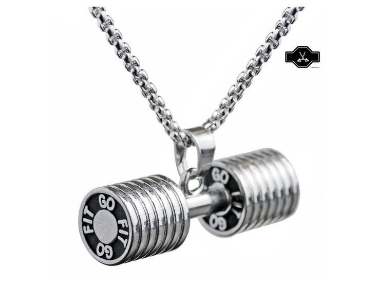 Činka GO FIT - Steinless Steel . Reprezentující přívěsek na řetízek. Reprezentuj svůj životní styl !