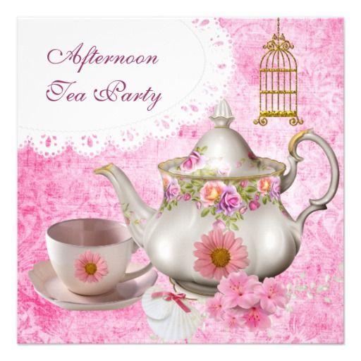 Best Afternoon Tea Images On   Afternoon Tea Invites