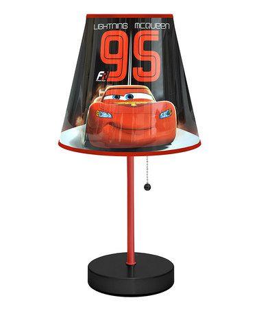Look at this #zulilyfind! '95' Cars Table Lamp #zulilyfinds
