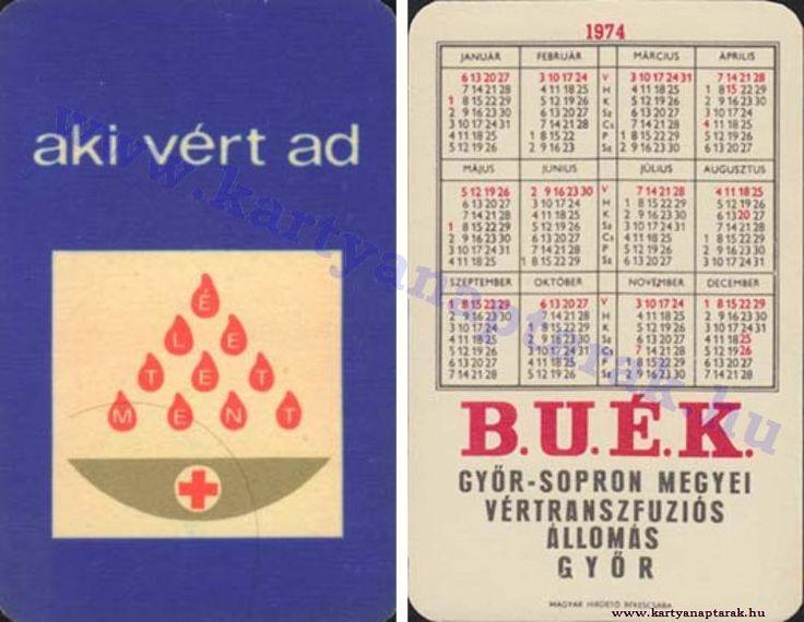 1974 - 1974_0737 - Régi magyar kártyanaptárak