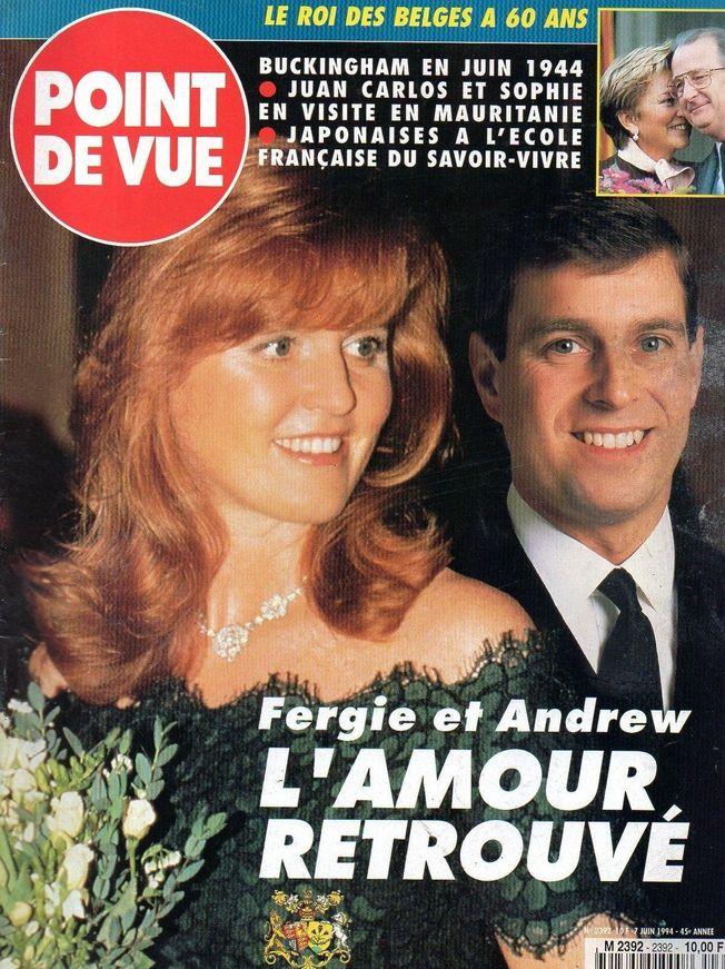 point de vue N°2392 - 1994 Fergie et Andrew
