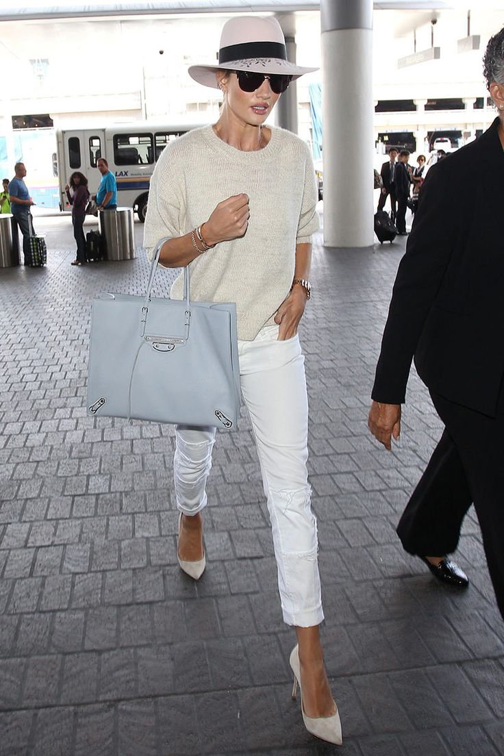 Top looks. Del aeropuerto al 'front row' © Gtres Online/ Cordon Press/ Getty Images