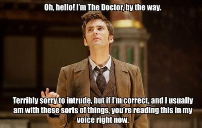 ...So true. :)The Doctors, Funny Pictures, Doctorwho, Tenth Doctor, Doctors Who, 10Th Doctors, David Tennant, True Stories, Davidtennant
