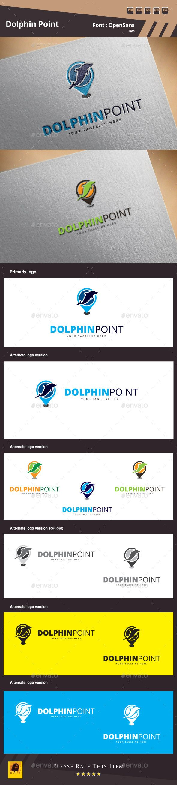 Dolphin Point Logo Template by maraz2013 Dolphin Point Logo Template Suitable for: �20Design Studios �20Photography �20Web Pages �20Software and Apps �20Video Games and Clans