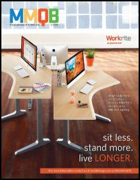 The cover of MMQB featuring Workrite Ergonomics