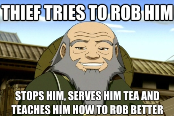 Avatar the last airbender uncle iroh avatar the last airbender a