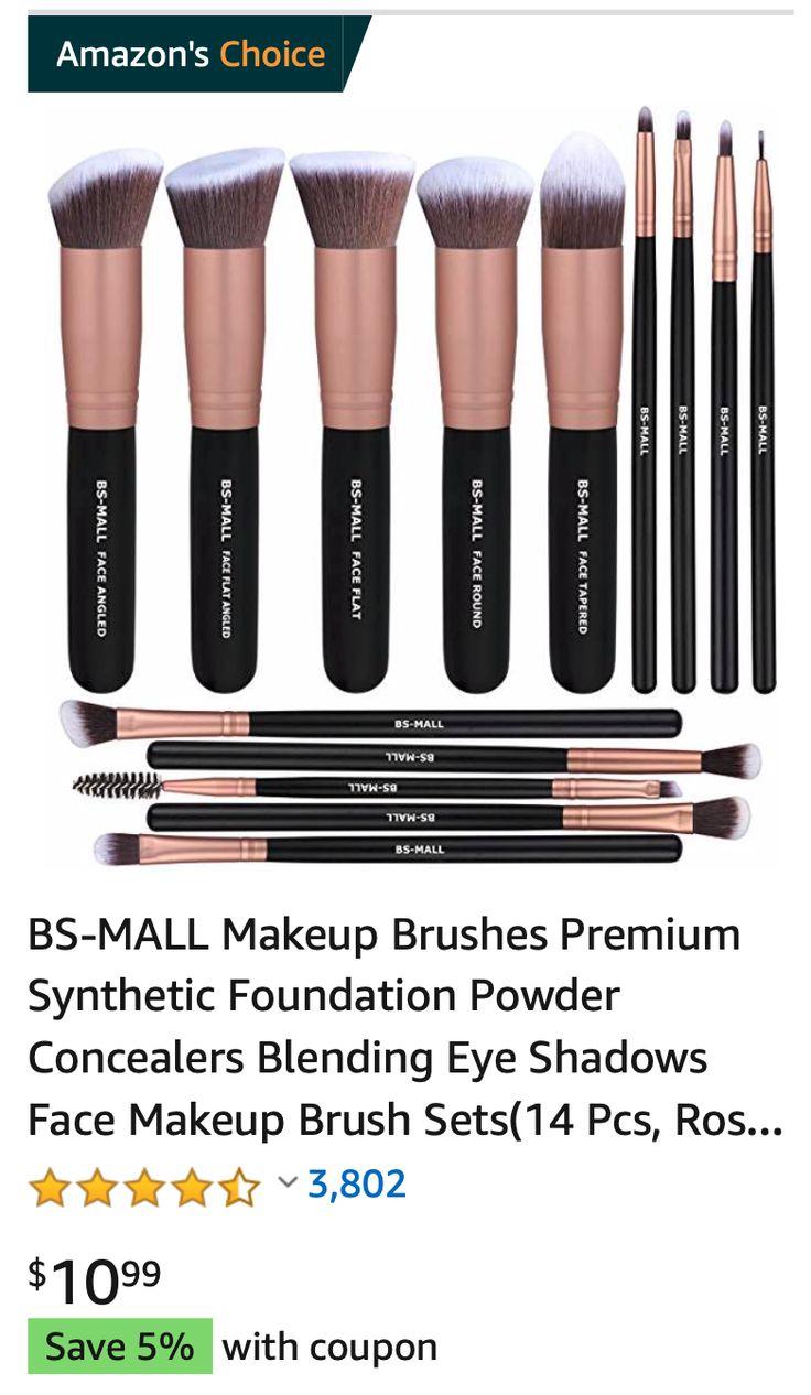Best Makeup Brushes Best makeup brushes, Best makeup