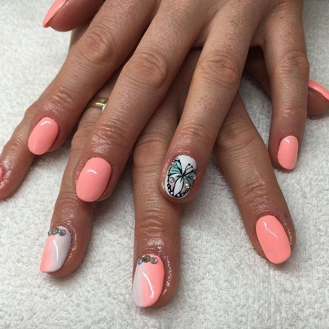 Sleeping Beaty  #semilac #semilacnails #semigirls #nails #nailswag…