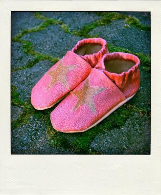 Nahkatossut / leather slippers