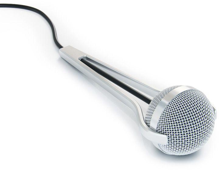 Mikrofonus. microphone by Art Lebedev