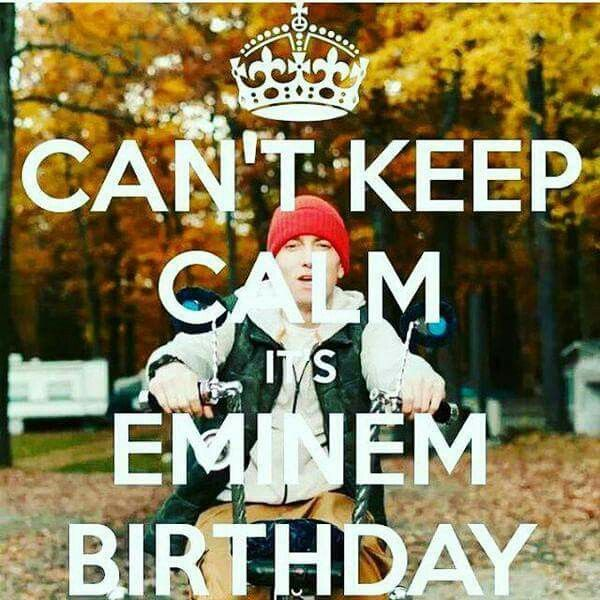 25+ Best Ideas About Eminem Birthday On Pinterest