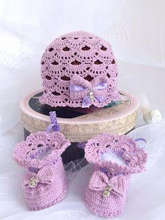 """Мой маленький вязаный мир: Комплект для малышки """"Папина принцесса"""""""