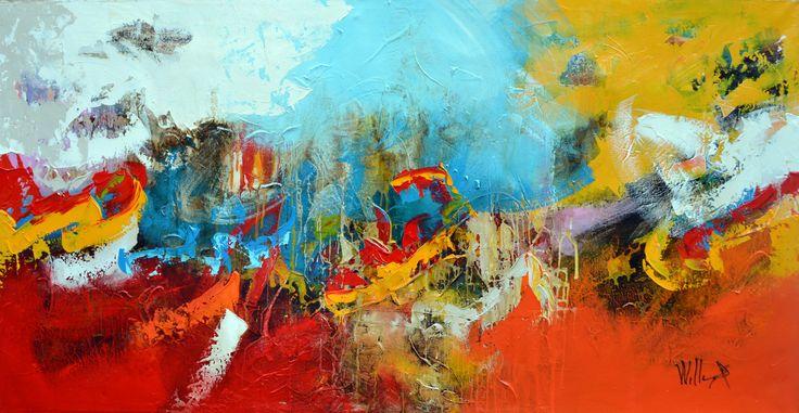 200x100cm door William Malucu - Te huur/te koop via Abrahamart.com #art #painting #kunst #kunstuitleen #WilliamMalucu #abrahamart #bramreijnders #Eindhoven
