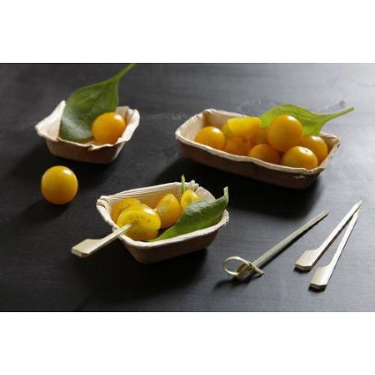 Palm Leaf Bowl Amuse Bouche size (3''x5'')