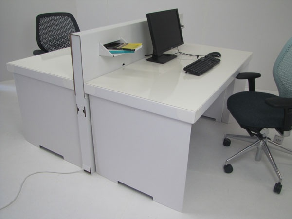paperweight desk made in england from 100 sustainable cardboard cardboard office furniture
