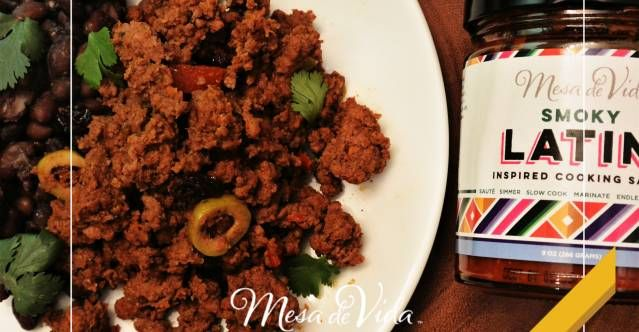 How to make Picadillo. Love this! So simple and nutritous, 10 minute dinner!
