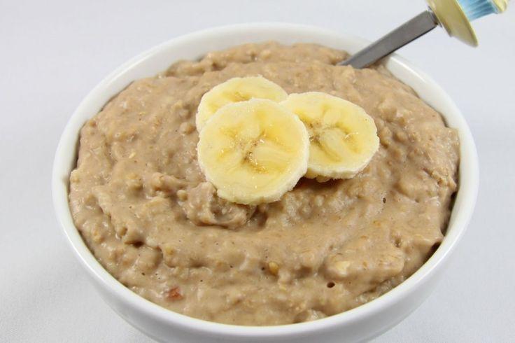 Peanut Butter Pudding Breakfast Oats