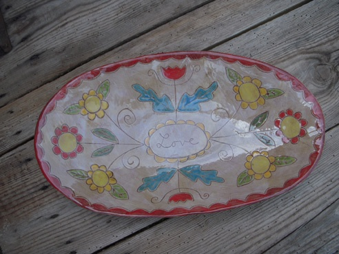 rebecca wood platter
