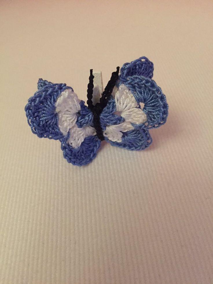 """Lpcreazioni on Twitter: """"Cosa c'è di meglio per abbellire i vostri pacchetti di Natale? #Christmas #crochet #handmade #butterfly https://t.co/5da8qoPQJO"""""""