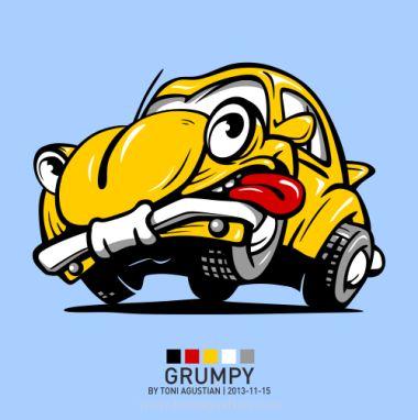 The Grumpy Bug