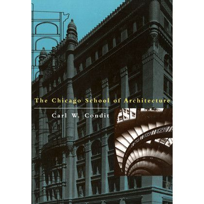 The Chicago School Of Architecture   Paperback Book Good Looking