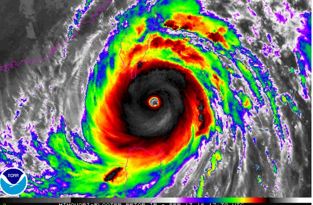 Clocking wind speeds of 300 km/h, super typhoon Meranti, now the Earth's strongest storm of the year, is forecast to graze Taiwan on Wednesday before barrelling into China.  The monster storm is the strongest recorded since 2013, when super typhoon Haiyan killed more than 6000 people in the Philippines.