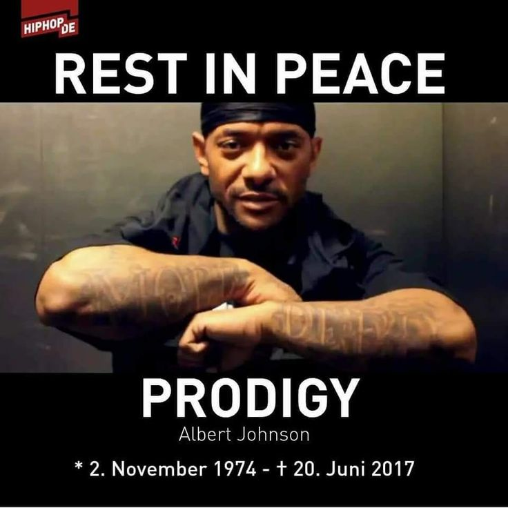 Prodigy (of Mobb Deep) 1974-2017