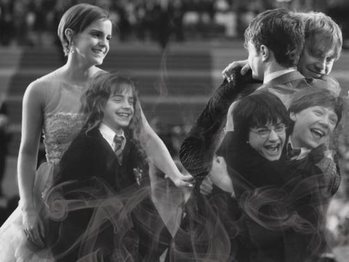 <3Solemnly Swear, Harry Potter Cast, Emma Watson, Harrypotter, Book, Mischief Management, Movie, 10 Years, Golden Trio