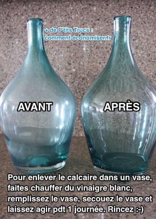 Les 25 meilleures id es concernant vase en verre sur pinterest grand vase e - Comment enlever le calcaire dans les wc ...