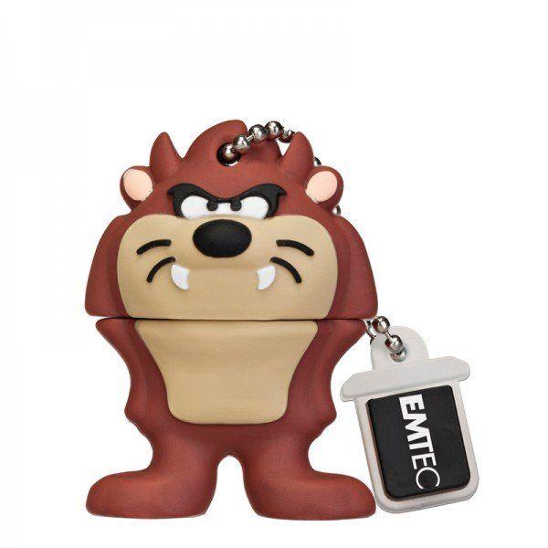 Emtec Looney Tunes USB 2.0 8GB Flash Drive Taz