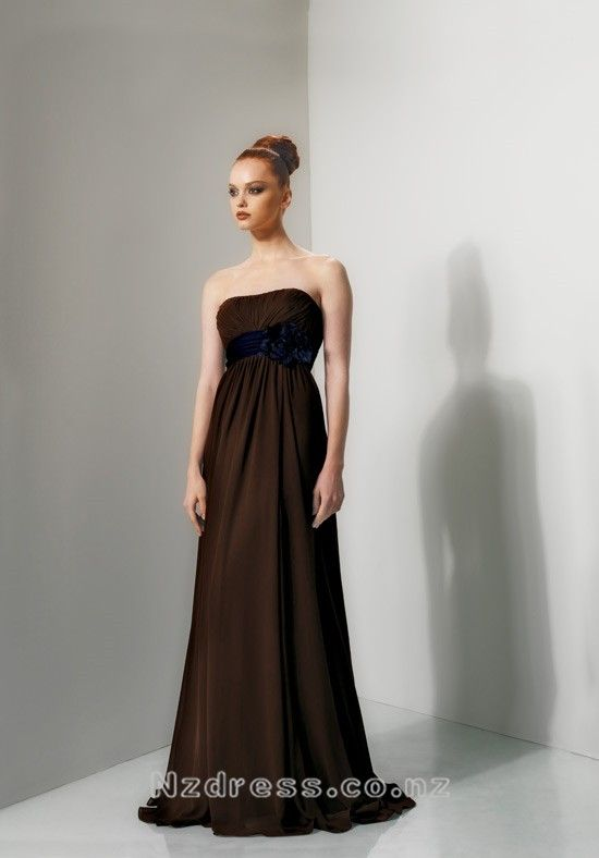 Product Description    Item:CBD-071    Shipping Weight:2kg    This  kind of bridesmaid dresses features elegant design. There is a sash decorated around the dress. The real goods will  be 95% matched with the photo.Silhouette: A Line Neckline: Strapless Waist: Empire Hemline / Train: Sweep Train Sle