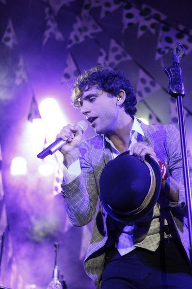 Singer Mika performs on stage at the La Riviera Club in Madrid. 23 June 2013