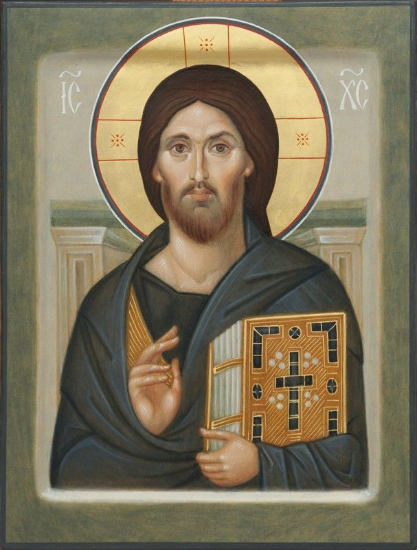 Jesus Christ the Pantocrator of Mt. Sinai - Icons from the Workshop of St. Elisabeth Convent - Handmade - Hand-Painted - Visit our website for more information: http://catalog.obitel-minsk.com/icon-painting #CatalogOfGoodDeeds #Orthodox #Eastern #Church #Orthodoxy, #Miracle, #Blessed #Faith #Holy #Jesus #Christ #Savior