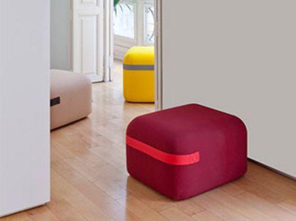 Puff Season design Piero Lissoni per Viccarbe