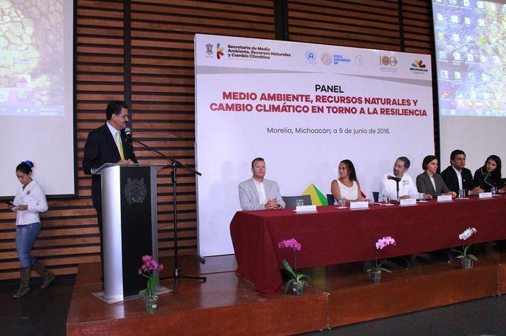 Fue la idea que prevaleció durante la realización del panel 'Medio Ambiente, Recursos Naturales y Cambio Climático: en torno a la Resiliencia', que se desarrolla en las instalaciones del Centro ...