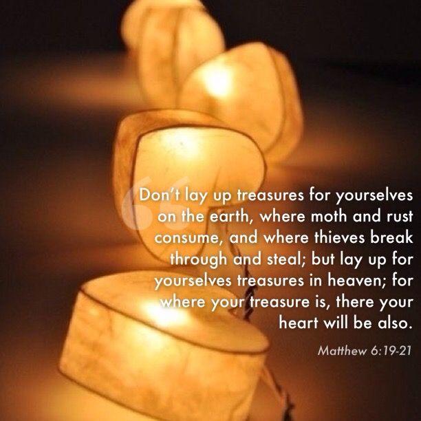 Matthew 6:19-20