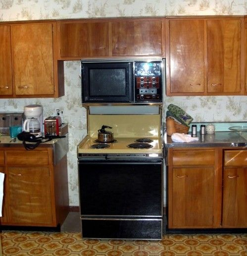 Painted Wood Kitchen Cabinets: 94 Best 1950s Homes Images On Pinterest