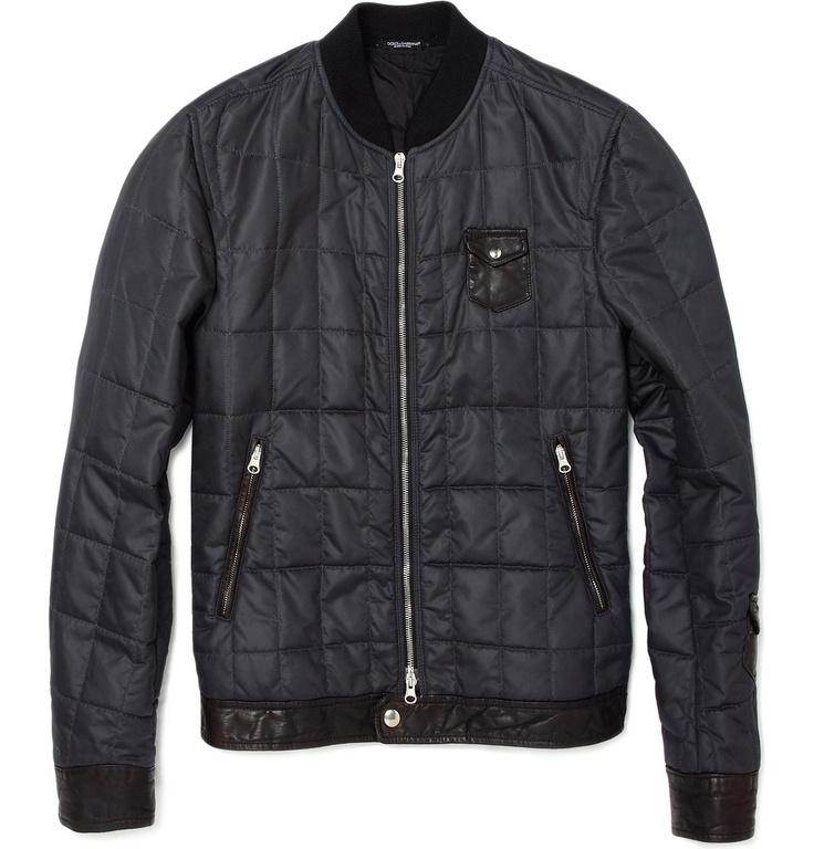 Dolce & GabbanaQuilted Jacket MR PORTER