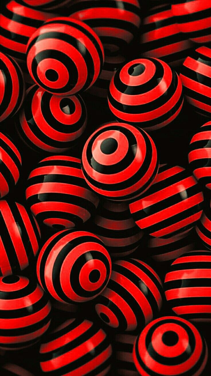 Black And Red Red Wallpaper Art Wallpaper