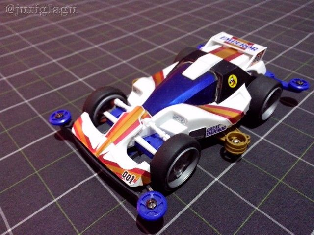 Tamiya 18075 - Dash-001 Great Emperor (Straight Forward)