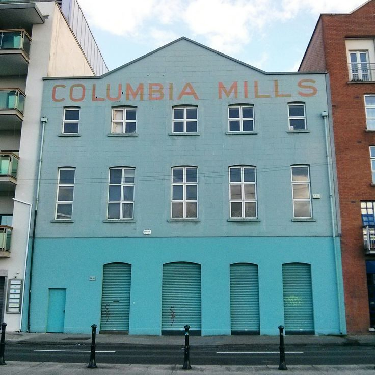 Columbia Mills hand-painted ghost sign, Dublin