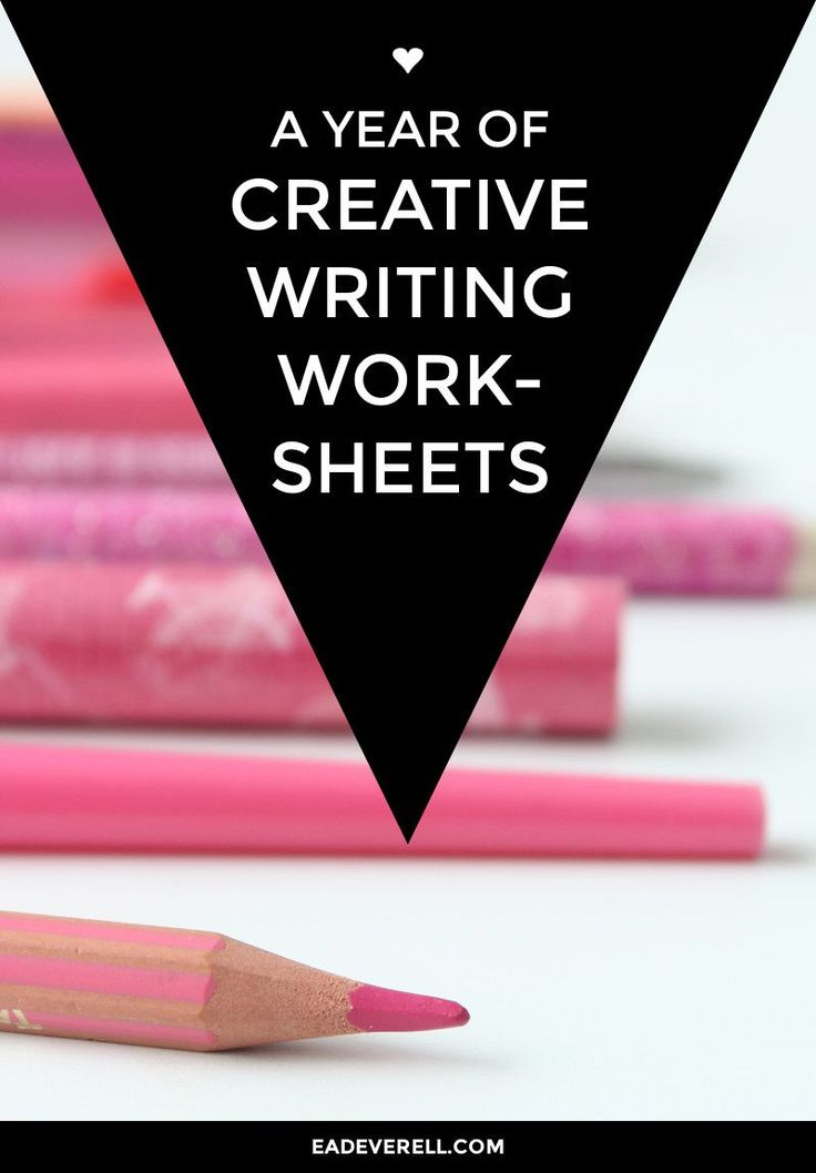 Creative Writing Worksheets. This woman saved me! these worksheets are so helpful!