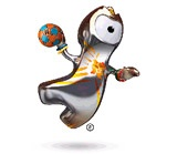 Handball mascot for London 2012 Olympics