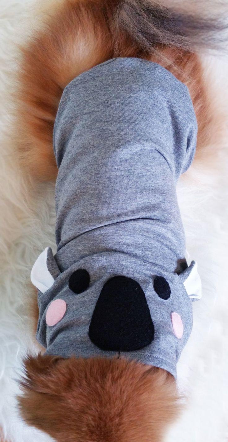 XS~4XL Size,Handmade Dog halloween costume ,Dog Koala Costume, Gray dog hoodie, dog clothes, small dogs clothes puppy costumes,puppy clothes by puppydoggyclothes on Etsy