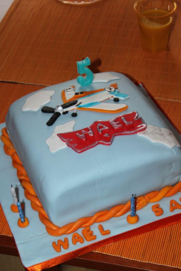Planes -birthday cake