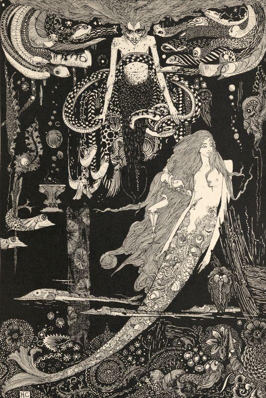Harry Clarke Mermaid